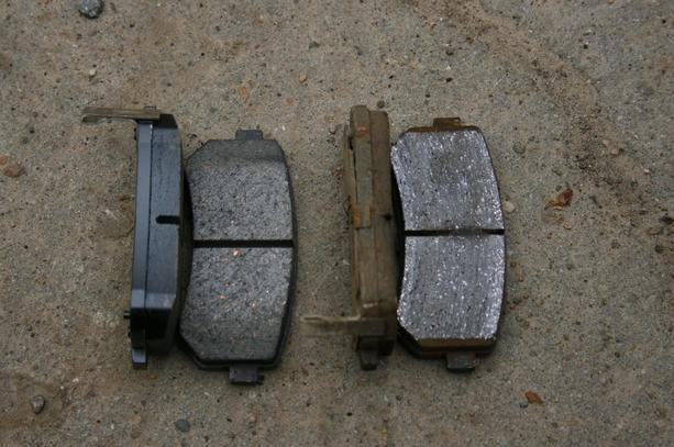 замена тормозных колодок киа каренс фото