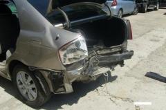 Удаление царапин кузова методом полировки и покраски Kia Rio