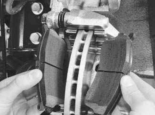 сколько стоят передние тормозные колодки на киа спектра