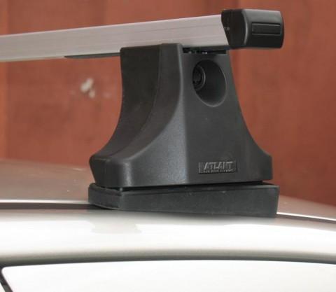 как установить багажник на крышу киа сид видео