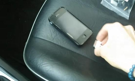 как подключить айфон к магнитоле киа рио