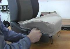 Установка чехлов на сидения Спектры