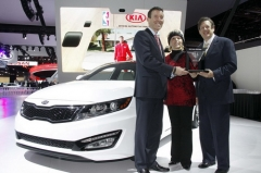 Kia Optima признана лучшим автомобилем 2013 года