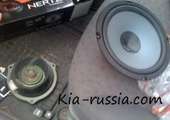 Установка аудиосистемы на автомобиль Киа Рио 2