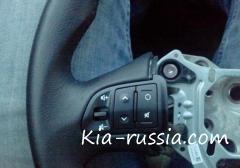 Установка кнопок на руле KIA Sportage