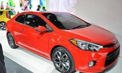 На автосалоне в Нью-Йорке представлен новый Kia Cerato Koup