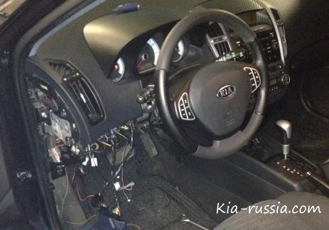 """Установка сигнализации с обратной связью на KIA Ceed """" Все о автомобилях Киа, Kia. Отзывы, цены, характеристики, тюнинг"""