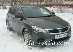 Отзыв о Kia Cee'd 2011 г.в.