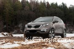 Тест-драйв автомобиля Kia Sportage 2012, 1 часть