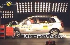Краш-тест Kia Cerato 2006