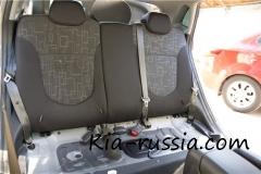 Установка чехлов сидений на Kia Rio. Часть 1