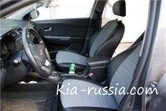 Установка чехлов сидений на Kia Rio. Часть 2