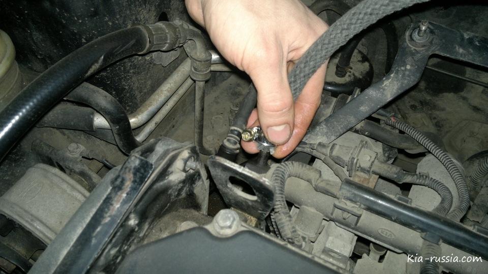 """Промывка инжектора на Спектре своими руками """" Все о автомобилях Киа, Kia. Отзывы, цены, характеристики, тюнинг"""