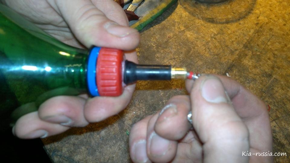 Промывка инжектора своими руками на киа сид