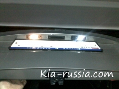 Установка камеры заднего вида на KIA Ceed SW