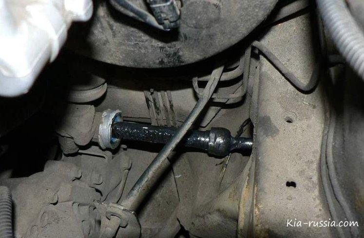 фото тяги рулевой на киа спортейдж 3