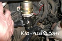 Предпусковой подогреватель двигателя Бинар 5 на Киа Соренто. Часть 1