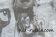 Меняем педаль тормоза на Рио