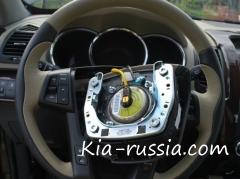 Демонтируем и разбираем рулевое колесо на Соренто