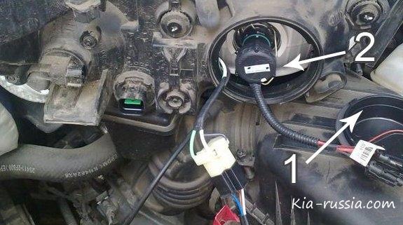 """Би-ксеноновые лампы на Киа Церато """" Все о автомобилях Киа, Kia. Отзывы, цены, характеристики, тюнинг"""