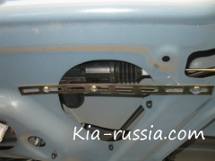 Открытие багажника Рио с брелока сигнализации