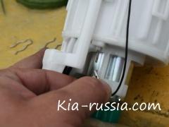 Замена топливного фильтра Рио своими руками