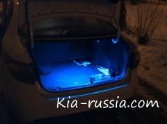 Подсветка багажного отделения Рио седан
