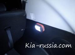 Освещение багажника на Киа Спортейдж
