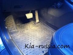 Светодиодная подсветка на Киа Спортейдж