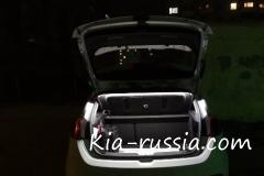 Подсветка багажника Сид светодиодной лентой