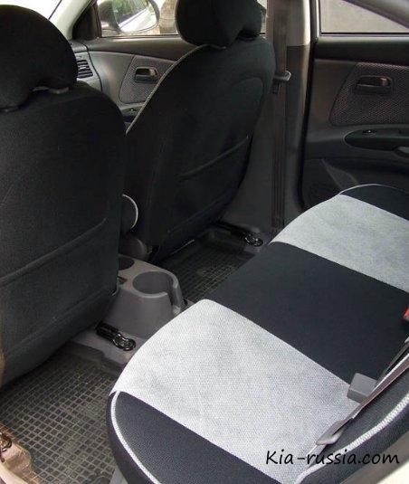 Чехлы для Киа Рио, купить авточехлы на сиденья Kia Rio с ...