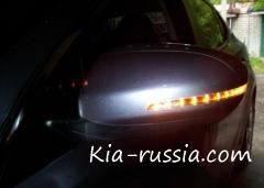 Замена светодиодных повторителей на зеркале Маджентис