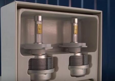 Светодиодные лампы на Киа Рио