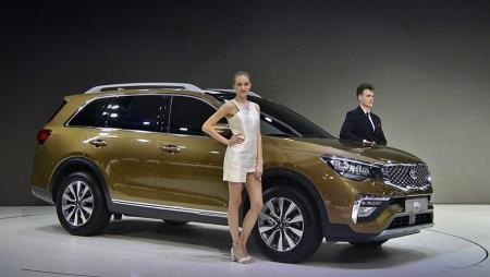 Паркетник Kia KX7 заменит в Китае Sorento