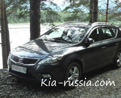 Отзыв о Kia ceed SW 1,6 AT Luxe (2011 г.в.)
