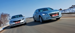 Kia Optima VS Peugeot 508